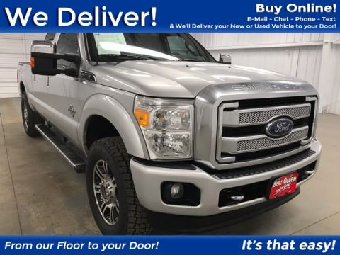 Pre-Owned 2016 Ford F-250SD Platinum 4WD 4D Crew Cab
