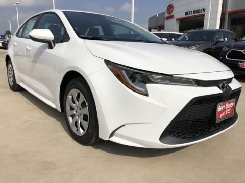 New 2020 Toyota Corolla LE FWD 4D Sedan