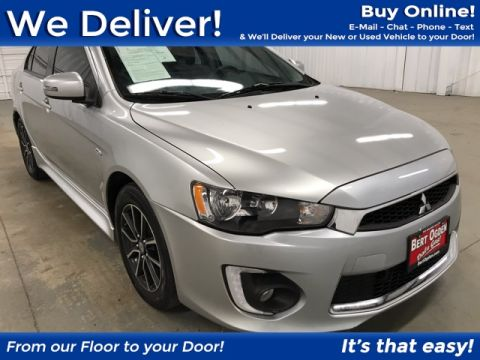 Pre-Owned 2017 Mitsubishi Lancer ES FWD 4D Sedan